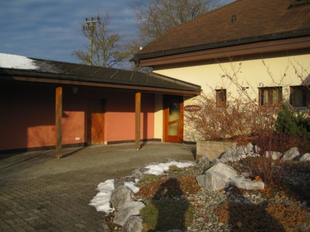 Hallenbad Beitenwil Eingang