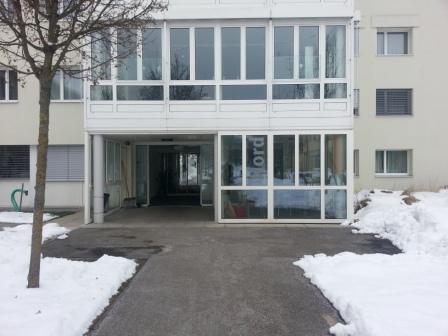 Hallenbad Strengelbach Eingang