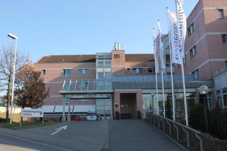Hallenbad Menziken Haupteingang