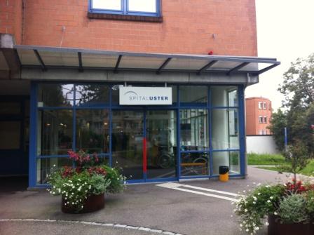 Hallenbad Uster Haupteingang