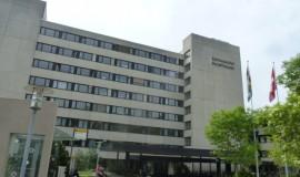 Hallenbad Schaffhausen Aussenansicht