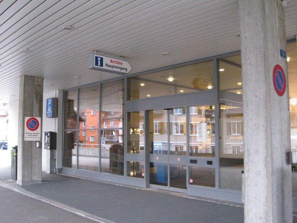Hallenbad Herisau Haupteingang
