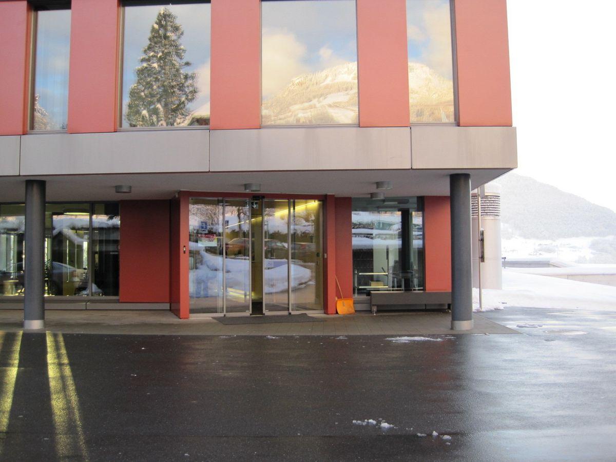 Hallenbad Schwyz Haupteingang