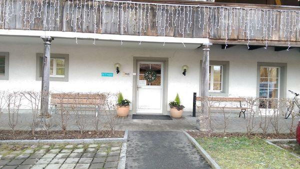 Hallenbad Riggisberg Haupteingang
